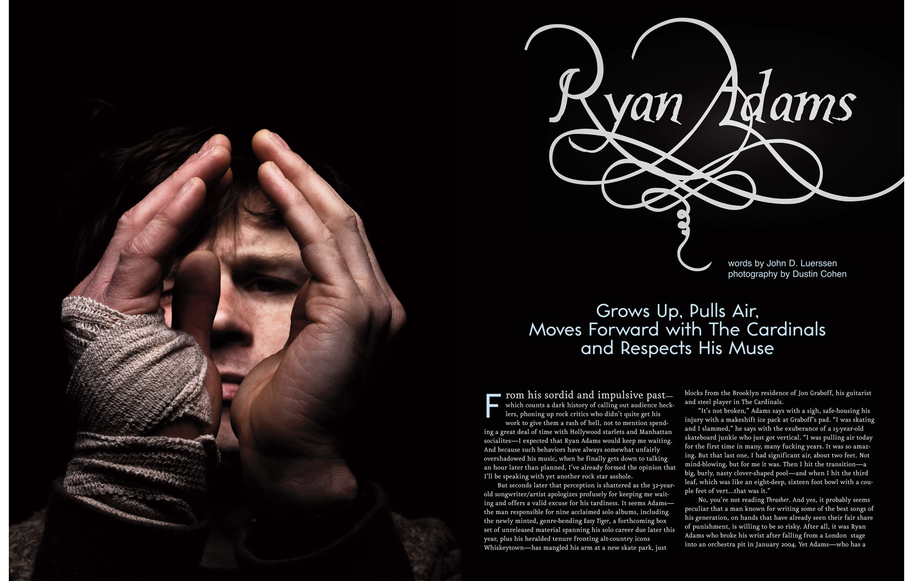 Ryan Adams/ American Songwriter Magazine