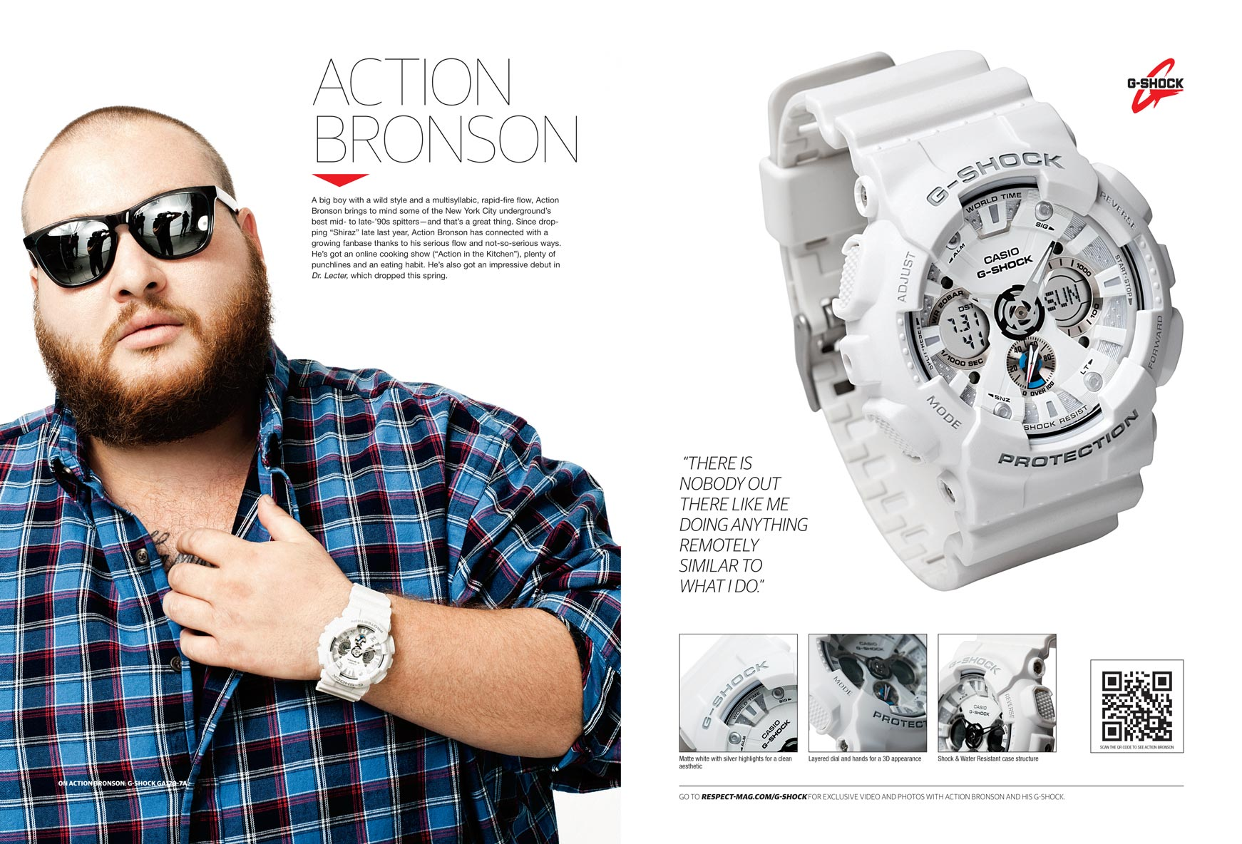 Action Bronson / Casio G Shock