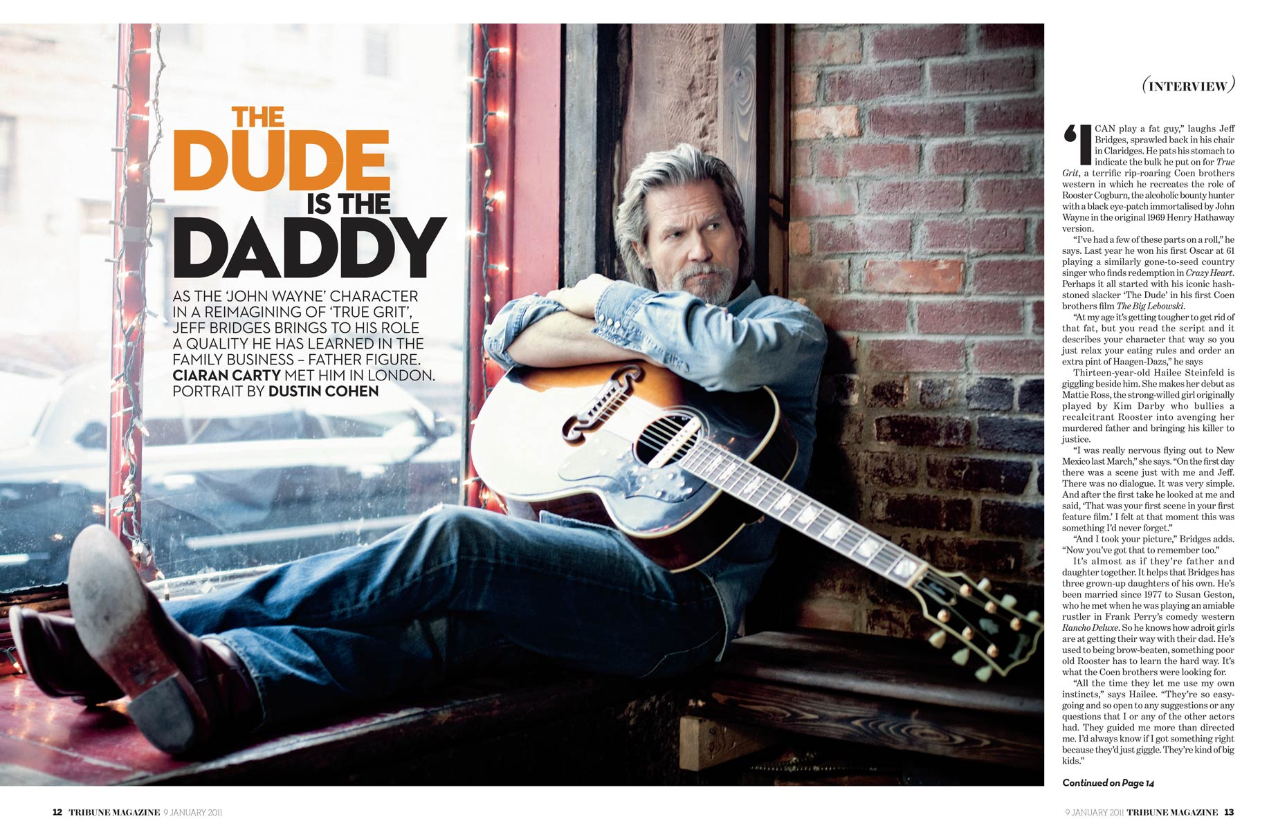 Jeff Bridges / Sunday Times