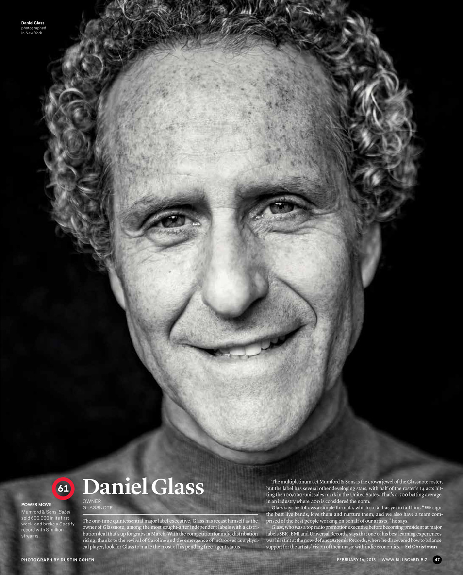 Daniel Glass / Billboard Magazine